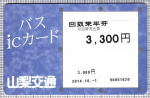 バスicカード(表)
