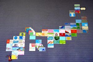 交通系ICカード 収集状況 いわゆる「ICカード日本地図」 2020.12.10